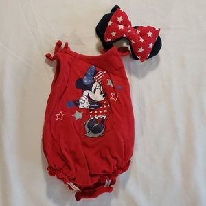 NWT Disney Store Mickey Mouse Romper Mr Sunshine 9//12M Baby Boy